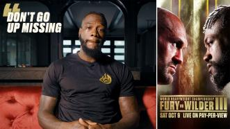 Deontay Wilder Sends a Message to Tyson Fury Ahead of Trilogy