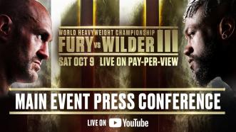 Fury vs Wilder 3 - Main Event Press Conference