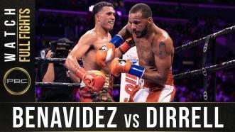 Dirrell vs Benavidez - Watch Full Fight | September 28, 2019