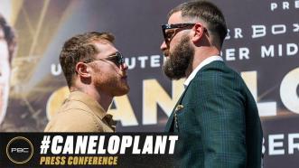Canelo Alvarez vs Caleb Plant Kick-off Press Conference   Full Replay