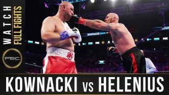 Kownacki vs Helenius - Watch Full Fight |  March 7, 2020