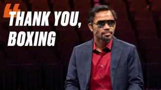 Manny Pacquiao Gives Impassioned Speech After What Could Be His Final Fight