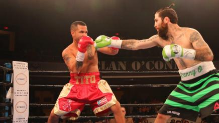 OConnor vs Bracero full fight: October 10, 2015