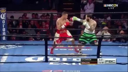Gabriel Bracero KOs Danny O'Connor: October 10, 2015