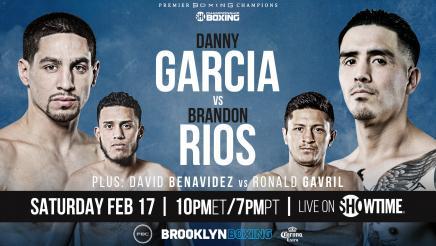Garcia vs Rios Preview: February 17. 2018