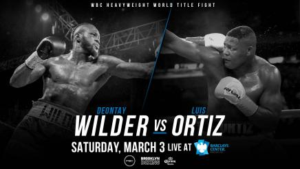 PBC This Just In: Wilder vs Ortiz announced for March 3, 2018