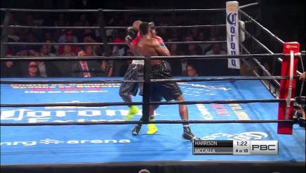 Harrison vs McCalla full fight: October 31, 2015