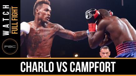 Charlo vs Campfort full fight: November 28, 2015
