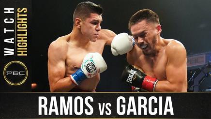 Ramos vs Garcia - Watch Fight Highlights | September 6, 2020