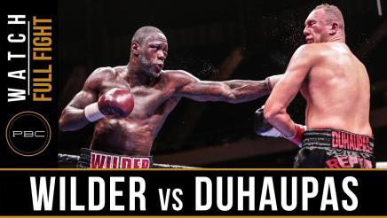 Wilder vs Duhaupas preview: September 26, 2015