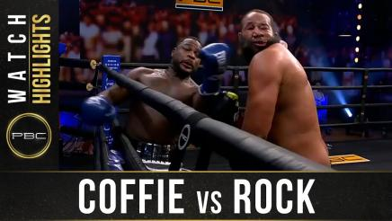 Coffie vs Rock - Watch Fight Highlights | January 30, 2021
