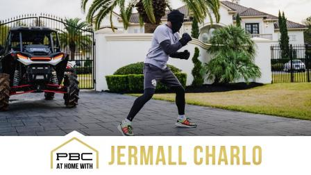 Jermall Charlo shows off his Houston Home | At Home With