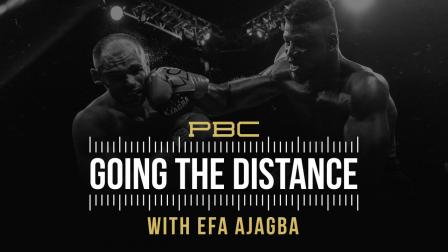 Efe Ajagba breaks down his heavyweight fight with Iago Kiladze