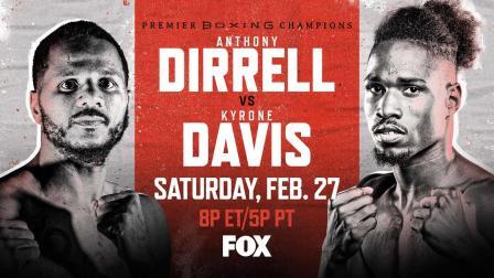 Dirrell vs Davis PREVIEW: February 27, 2021