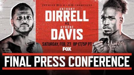 Dirrell vs Davis Final Press Conference