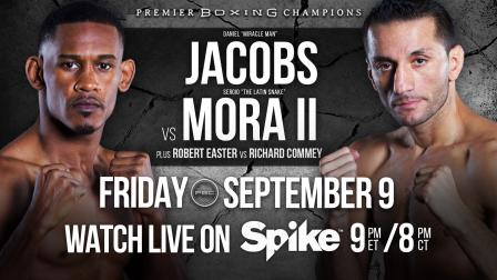 Jacobs vs Mora preview: September 9, 2016