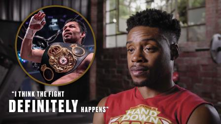 Confident Errol Spence Jr. wants Manny Pacquiao next