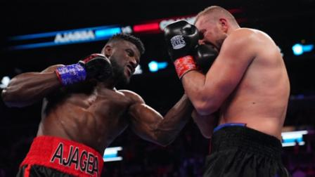 Ajagba vs Cojanu - Watch Fight Highlights | March 7, 2020