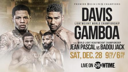 Davis vs Gamboa Preview: December 28, 2019 - PBC on Showtime