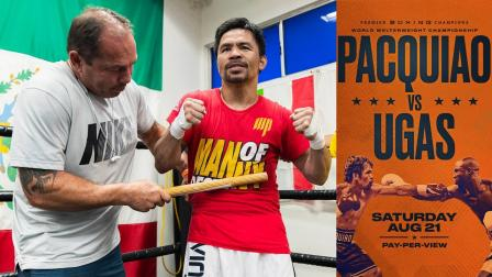 No Pain, No Gain! Manny Pacquiao Works on His Pain Tolerance Ahead of Ugas Clash