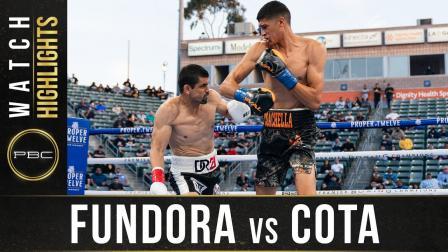 Fundora vs Cota - Watch Fight Highlights   May 1, 2021
