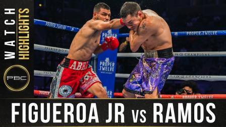Figueroa Jr. vs Ramos - Watch Fight Highlights   May 1, 2021