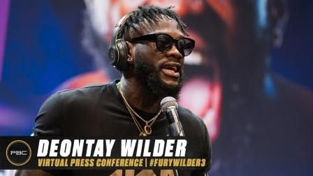 Deontay Wilder Virtual Press Conference   Full Replay