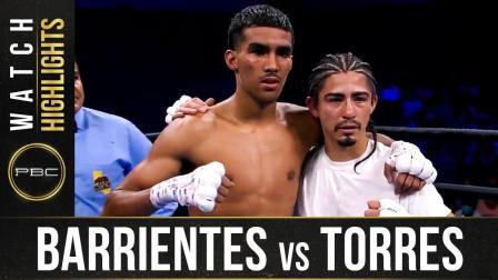 Barrientes vs Torres HIGHLIGHTS: September 19, 2021 | PBC on FS1