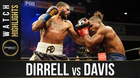 Dirrell vs Davis - Watch Fight Highlights   February 27, 2021