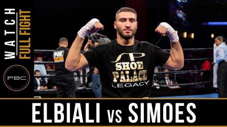 Elbiali vs Simoes - Watch Full Fight | May 25, 2019