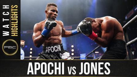 Apochi vs Jones - Watch Fight Highlights   November 14, 2020