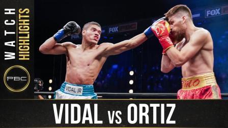 Vidal vs Ortiz - Watch Fight Highlights   November 14, 2020