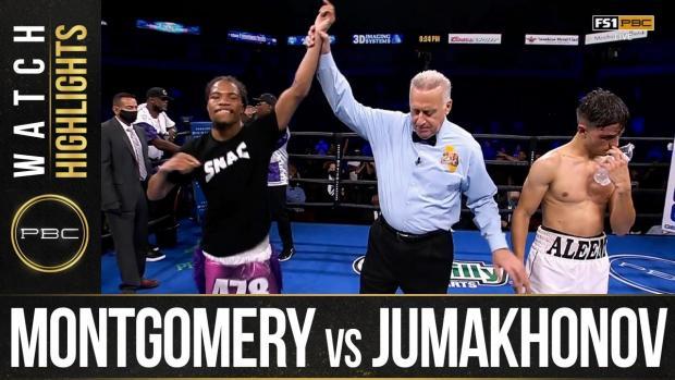 Montgomery vs Jumakhonov HIGHLIGHTS: September 19, 2021   PBC on FS1